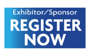 Register button for sponsors and exhibitors